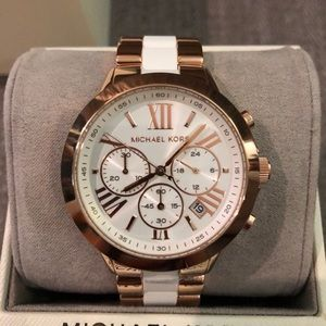 Michael Kors Women's Bradshaw Two-Tone Watch